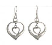 E143 Heart Earring