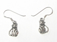 E169 Cat earrings