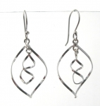 E172 Spiral earrings