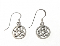 E173 Celtic earrings