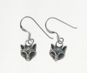 E195 Fox Earrings