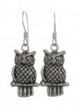E22 Owl earrings