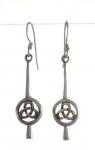 WE53 Celtic earrings 32x10
