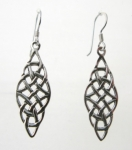 E54 Celtic Drop Earrings