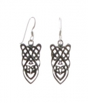 E55 Celtic Earrings  23x10