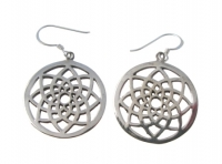 E62 Flower of life earrings