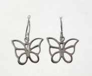 E63 Cut Out Butterfly Earring