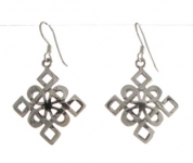 E64  Celtic Earrings 27x23