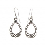 E76  Celtic Earrings  20x15