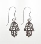 E80 Hand of fatima earrings
