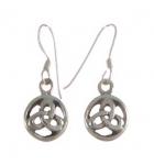 E81  Celtic Earrings 10x10