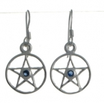 E90 Pentagram Earrings
