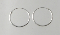 H30 Sterling Silver hoop ( pack of 5 pairs)