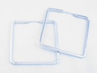 H57  square shaped hoops