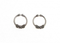 H61- 5 pairs balinese ear cuffs