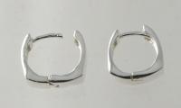 H9 Silver cuff/hoops