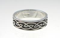 R234 Silver celtic ring