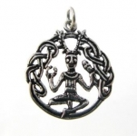 P103 Cernunnos (celtic god) pendant