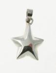 P114 Solid Star Pendant