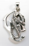 P137 Dragon pendant