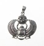 P169 Egyptian symbols pendant