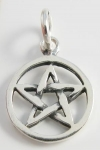 P180a Small Pentagram Pendant 13x13