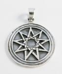 P191 Nonagram pendant