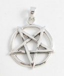 P198a Up-side down pentagram pendant