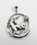 P238 Unicorn pendant