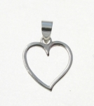 P250 Open Heart Pendant