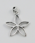 P254 Flower pendant