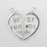P257 Best friends pendant