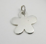 P259a Solid flower pendant
