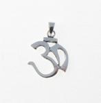 P265 Silver Ohm Symbol Pendant