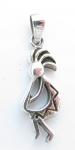 P272 Kokopelli pendant