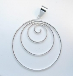 P278 Spiral pendant