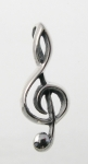 P282 Treble clef pendant