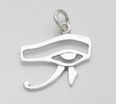 P294 Silver eye of horus pendant