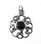 P345 Celtic circle pendant