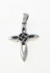 P34a Silver cross pendant