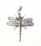 P353 Moving Dragonfly Pendant