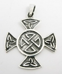 P37 Celtic cross pendant