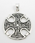 P42 Celtic cross pendant