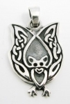 WP45a Celtic bat pendant