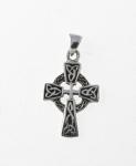 P5 Silver Celtic Cross Pendant