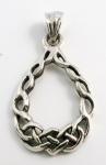 P63 Celtic loop pendant