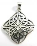 P73 Celtic diamond pendant