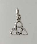 P80 Celtic triangle pendant