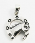 P90 Horse pendant