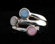 R128 Sterling Silver Shell Ring